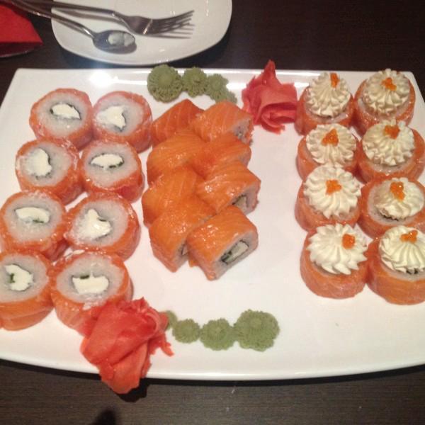 очень большие и вкусные суши!