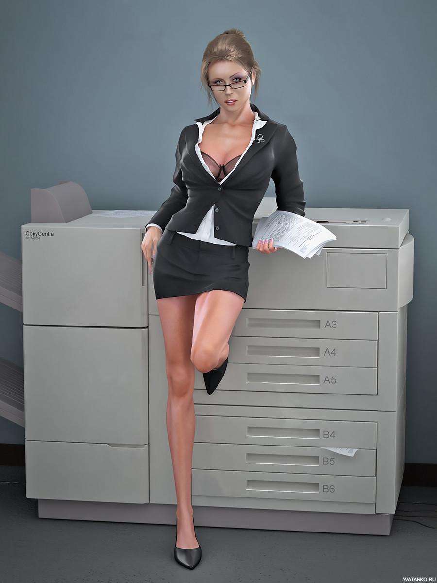 Смешные картинки про секретаршу