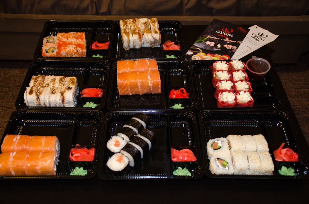 Естественно побежала в ближайший суши wok на проспект косыгина,  я заказал роллы 31 января г.