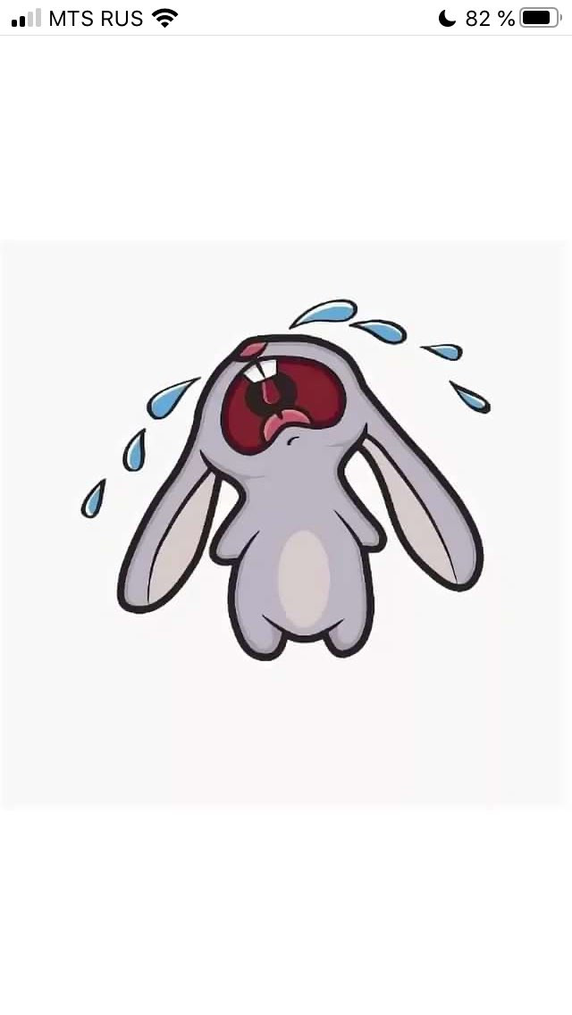 через картинка заяц в слезах и соплях возродилась