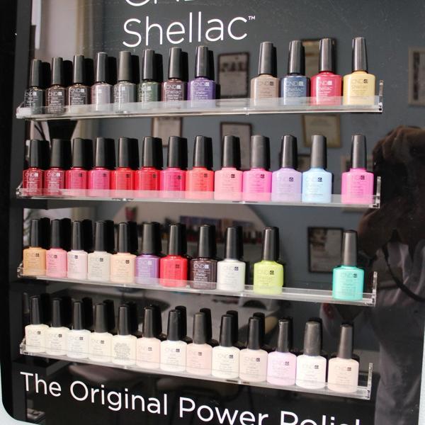 У нас столько оттенков гель-лака Shellac от CND (США)!