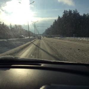 Вот так оперативно чистим дороги да? Второй день снегопада бердское шоссе