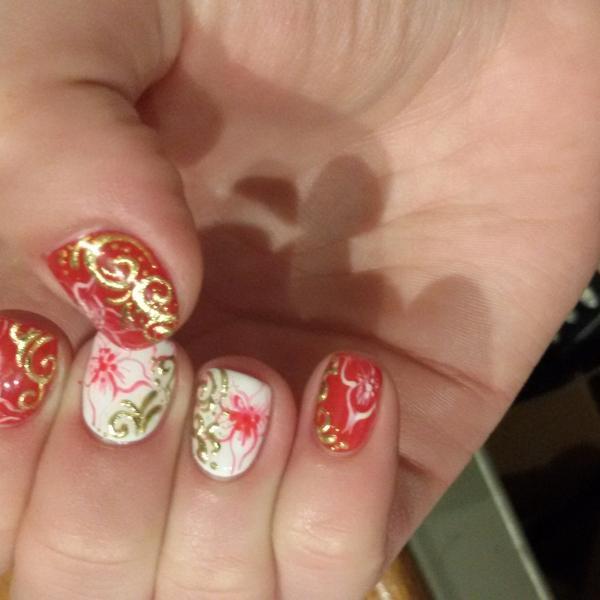 Вот такая красота на моих руках)))