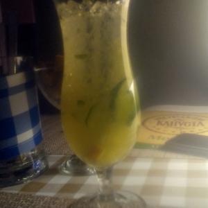 огуречно-цитрусовый лимонад. очень вкусно!