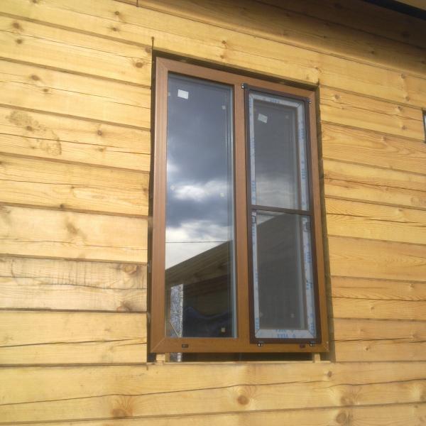 кашированное окно