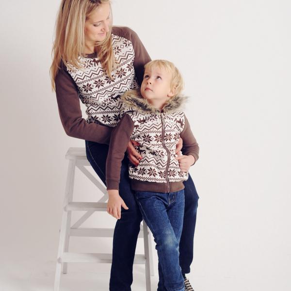 В стиле Family look)))