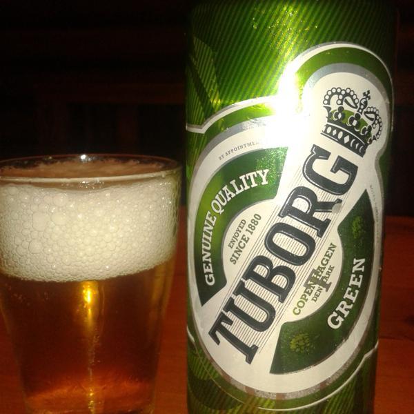 "Tuborg Grøn - в ""балтийском"" исполнении"