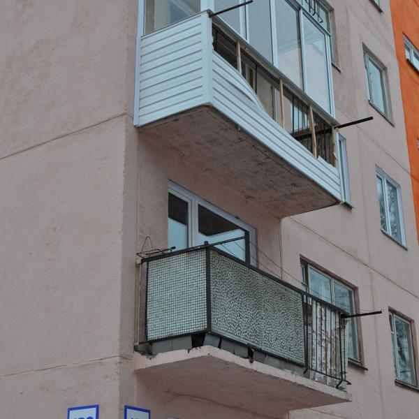 наш балкон на 3 этаже