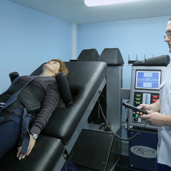 Лечение позвоночника на аппарате DRX9000 (США)