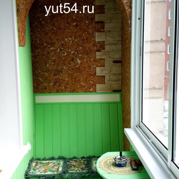 Красивое решение для балкона))
