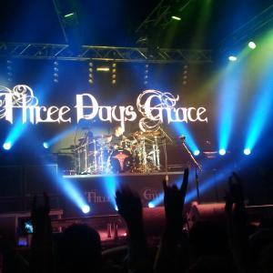 Концерт Three Days Grace