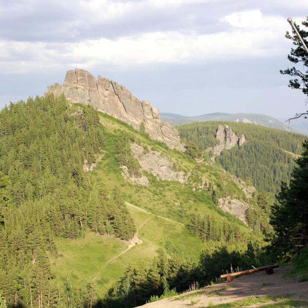 Вид на гору Такмак
