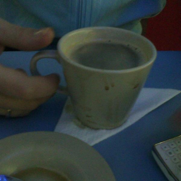 Вот и кофе...
