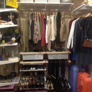 Фрагмент моей части гардероба :)