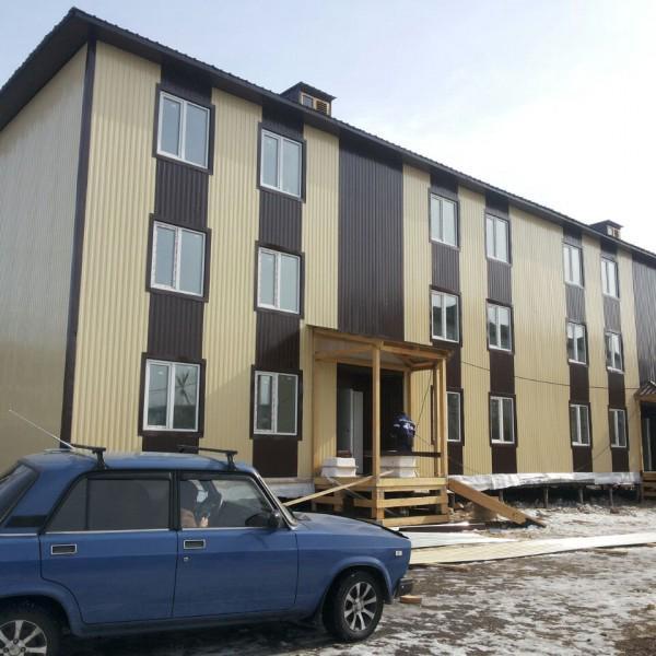 24 квартирный дом Алдан Якутия