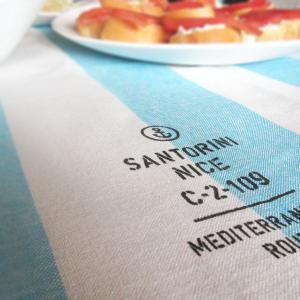 Полотенце-скатёрка на маленький стол:)