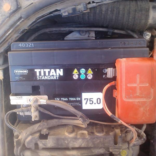 Titan Standart 75A 3400 рубл