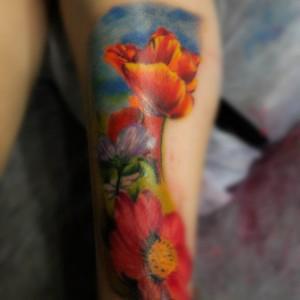 Фиерия цвета и цветов