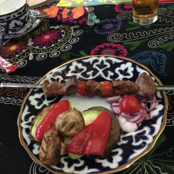 Рубаи. Овощи на гриле