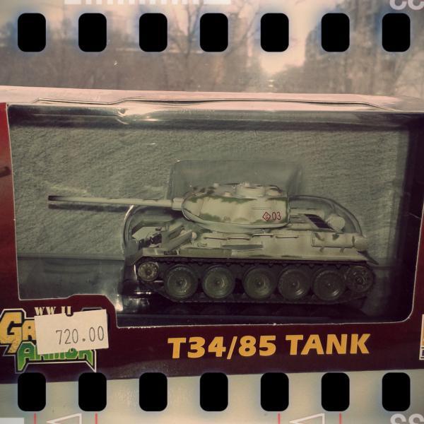 Годный танк для коллекции