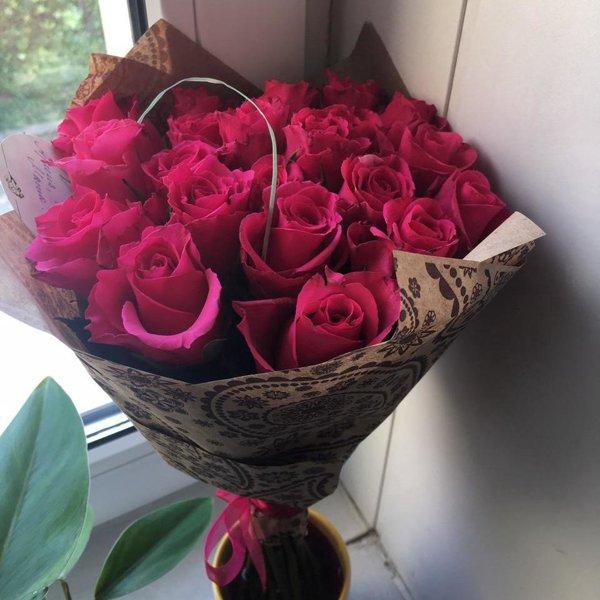фото букет роз от любимого кокосовые булочки