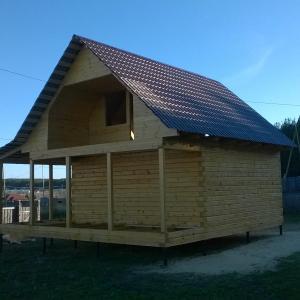"""Этот домик """"Дома Урала"""" построили за 1,5 недели от момента заключения договора."""