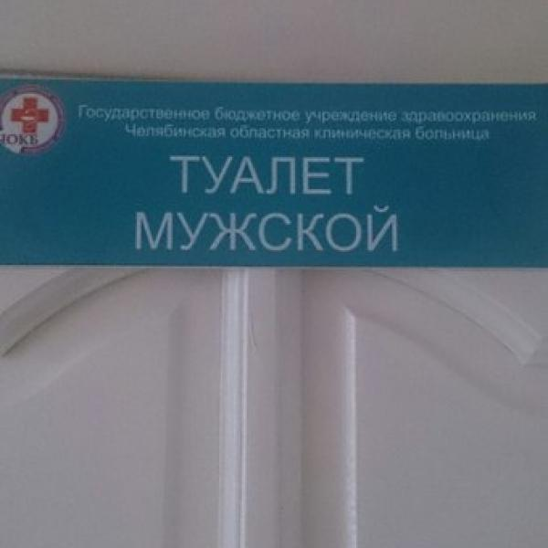 Самый гордый в мире туалет)