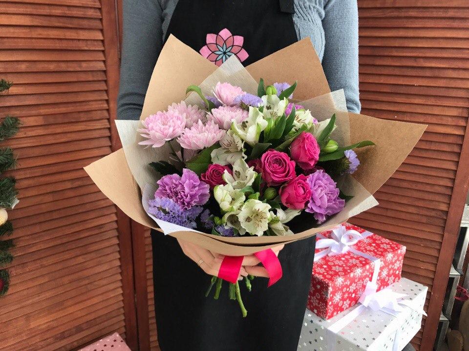 Букет живых, свежие цветов с доставка казань отзывы