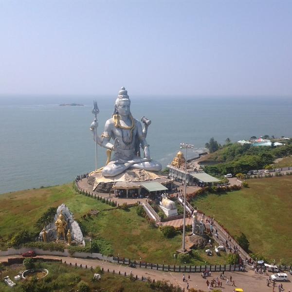 Самая большая статуя Шивы)