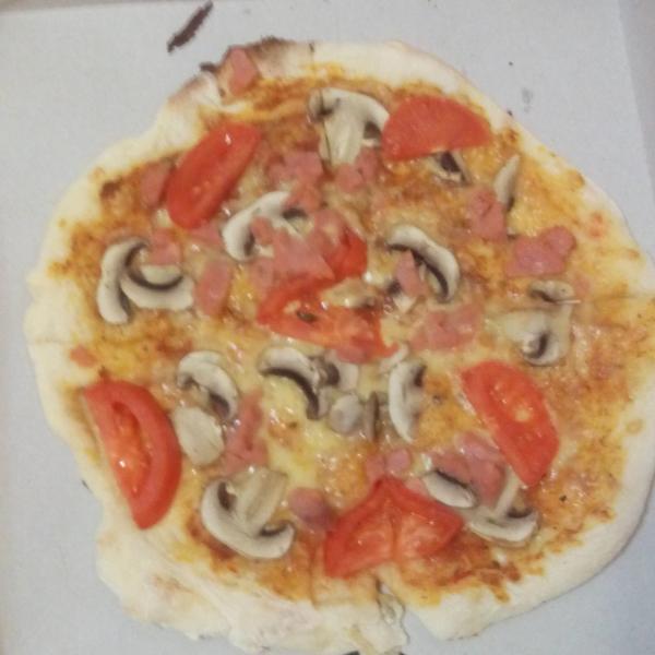 Шедевр, пицца Прошуто!!!!
