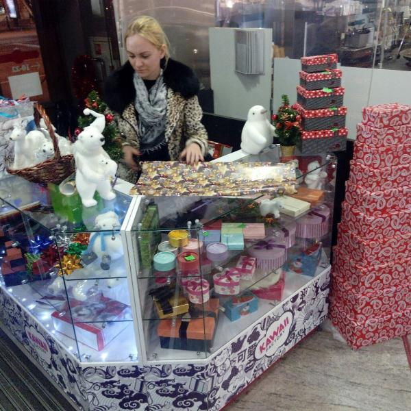 Упаковка подарков м. Маяковская