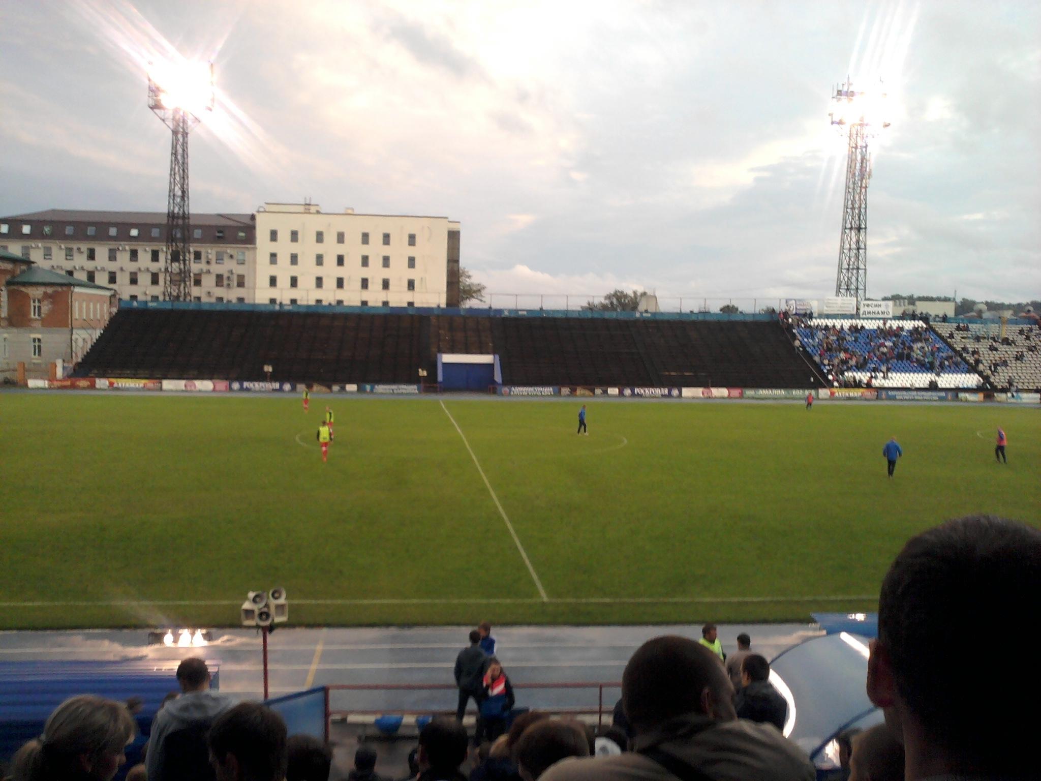 Фото стадионов города барнаула