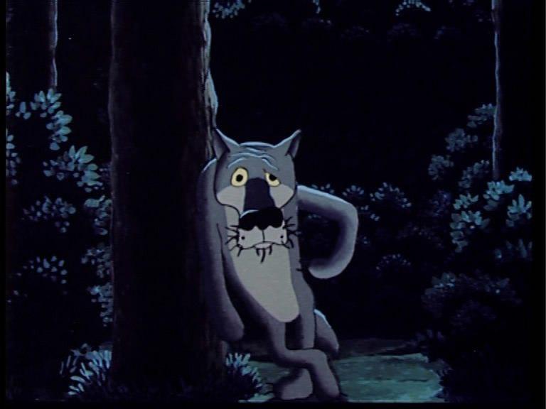 Приколы про, картинки про волка из мультика жил был пес