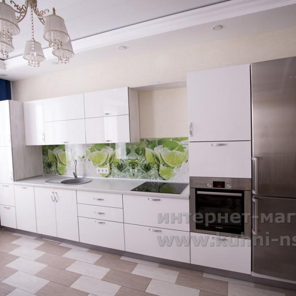 Новинка - кухня с фасадами UV-Лак - все фото - http://www.kuhni-nsk.ru/works_o.php?num=671