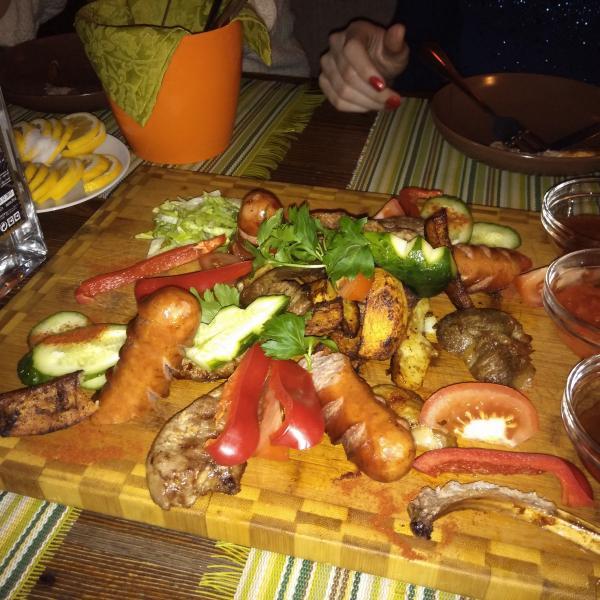 Большая тарелка «Кон мучо Густо» !!!(1800 г)!!!