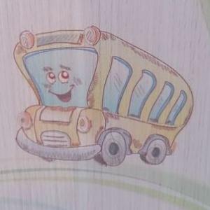 Рисунок на шкафчике!!!