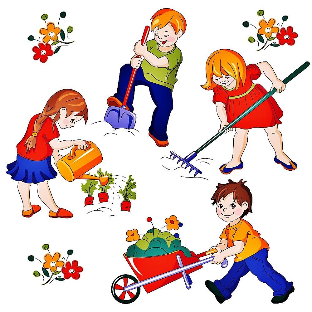 Лес картинки, труд картинки детские