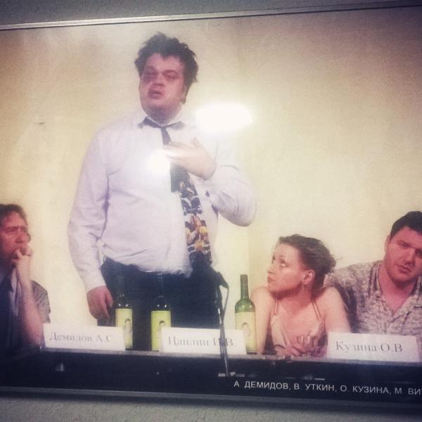День выборов. Сцена телемоста с избирателями кандидата в губернаторы Игоря Владимировича Цаплина =)