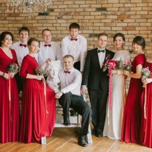 А вот и свадебное фото:)