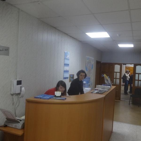 Заботливые хозяйки офиса, ближе - Анастасия.