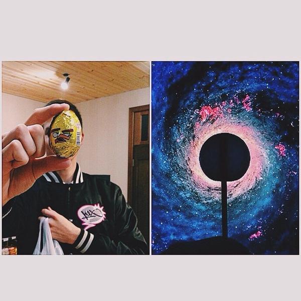 на фото один из победителей конкурса instagram ))