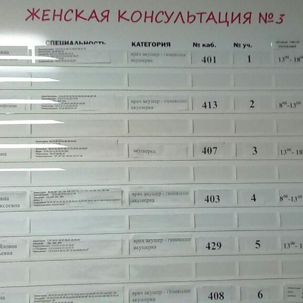 Александров женская консультация прием врачей