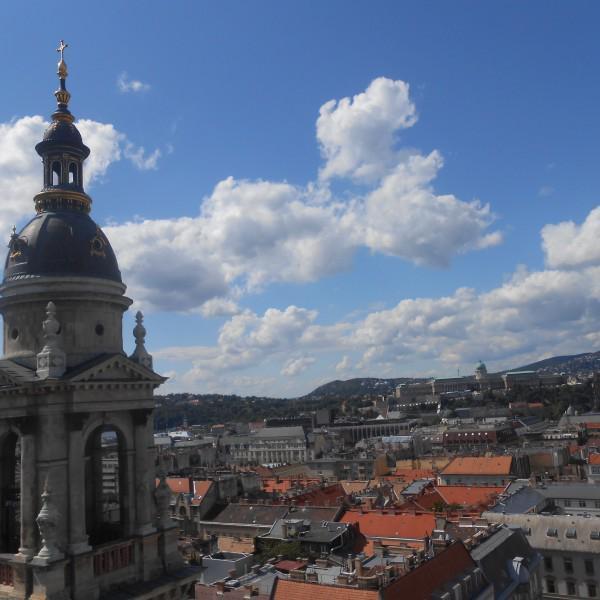 Вид с базилики святого Иштвана