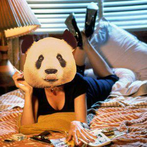 Панда в трениках