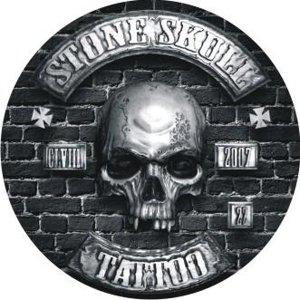 Stone Skull Tattoo