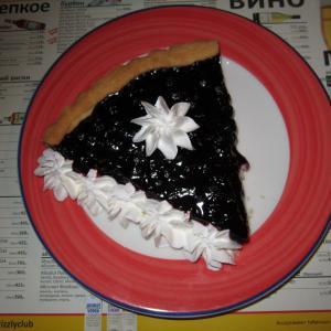 Большой черничный пирог прямо из Америки