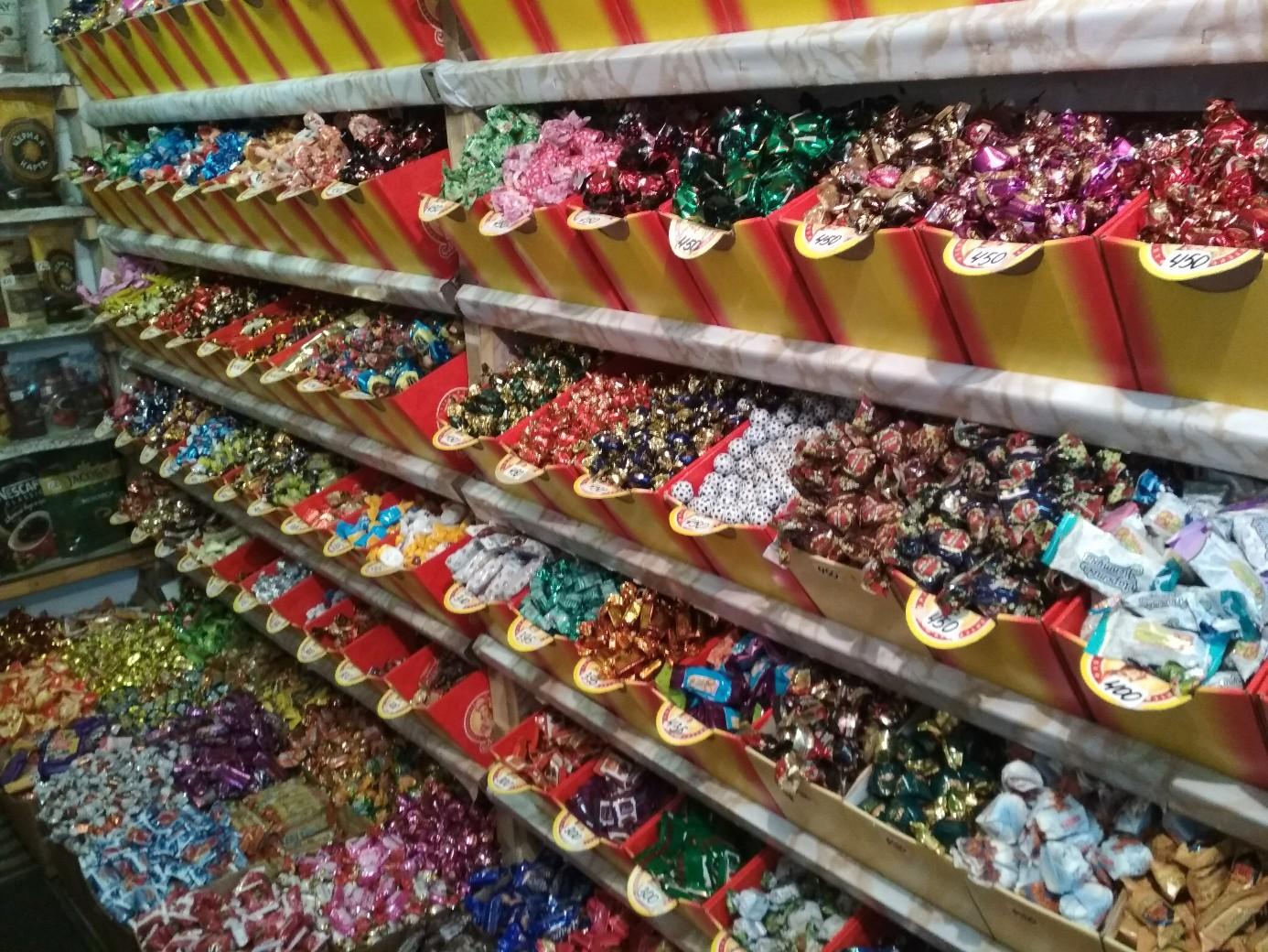 магазин конфет картинки пускали