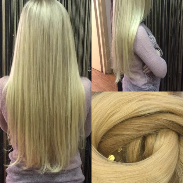 Не важно какой длиной волос Вы обладаете! Важно лишь то, о какой мечтаете! #наращивание волос