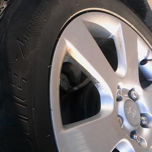 Это только одно колесо из трёх,одно всё-таки отмыли.