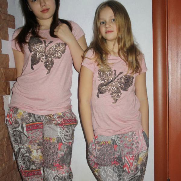 Некст, девочкам 10 и 13 лет